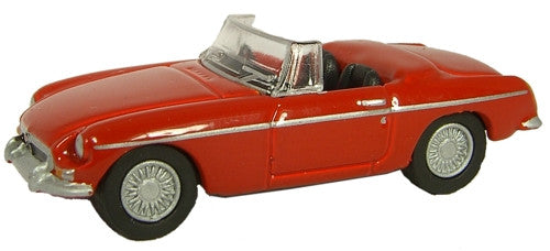 Oxford Diecast MGB Tartan Red - 1:76 Scale