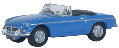 Oxford Diecast MGB Iris Blue - 1:76 Scale