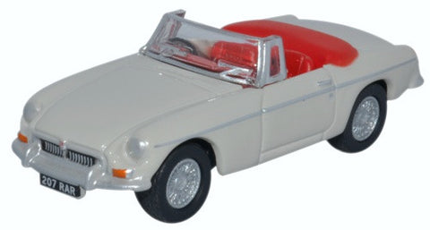 Oxford Diecast Mgb Roadster Chelsea Grey