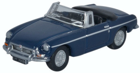 Oxford Diecast MGB Roadster Mineral Blue