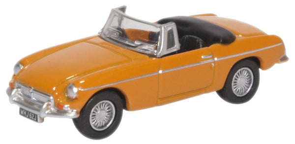 Oxford Diecast Mgb Roadster Bronze Yellow