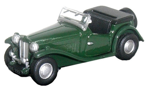 Oxford Diecast MG TC Racing Green - 1:76 Scale
