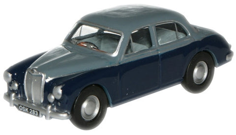 Oxford Diecast Steel Blue/Mineral Blue MGZB - 1:76 Scale