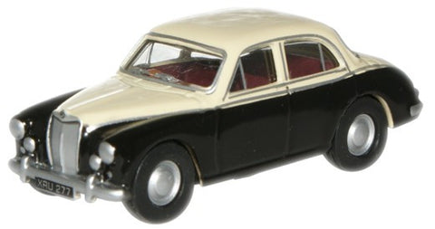 Oxford Diecast Ivory/Black MGZB - 1:76 Scale
