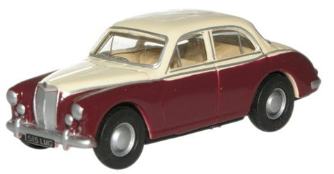 Oxford Diecast Ivory/Autumn Red MGZB - 1:76 Scale