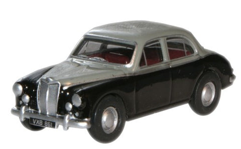 Oxford Diecast MGZB Varitone Birch Grey/Twilight Grey - 1:76 Scale