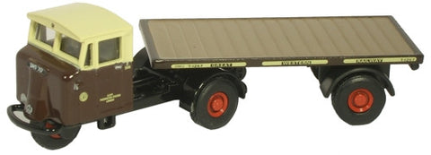 Oxford Diecast GWR Flatbed Trailer - 1:76 Scale