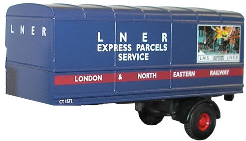 Oxford Diecast LNER Trailer Set - Two Piece - 1:76 Scale