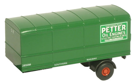 Oxford Diecast Southern Trailer Pack - 2 Piece - 1:76 Scale