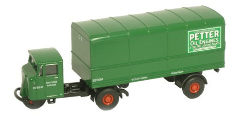 Oxford Diecast Southern Rail Box Van - 1:76 Scale