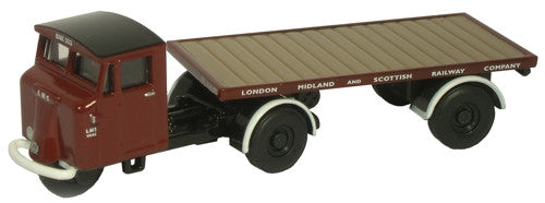 Oxford Diecast LMS Flatbed Trailer - 1:76 Scale