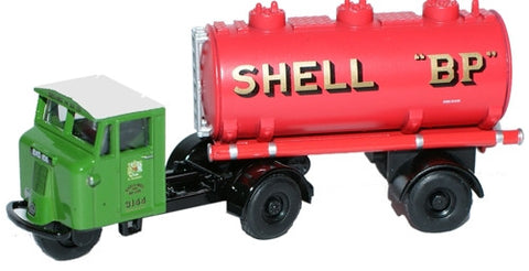 Oxford Diecast Shell-Mex & BP Ltd Mechanical Horse Tank Trailer - 1:76