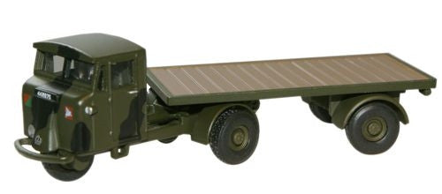 Oxford Diecast Royal Army Service Corps Mechanical Horse Flatbed Trail