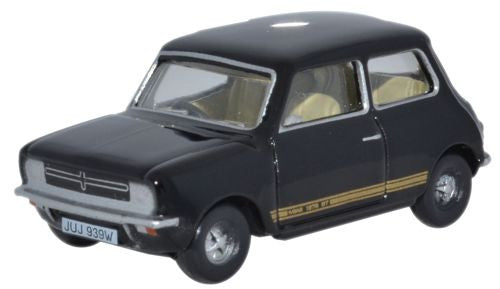 Oxford Diecast Mini 1275GT Black - 1:76 Scale