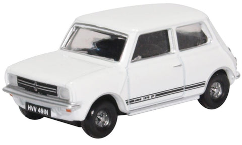 Oxford Diecast Mini 1275GT Glacier White