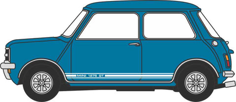 Oxford Diecast Mini 1275GT Teal Blue