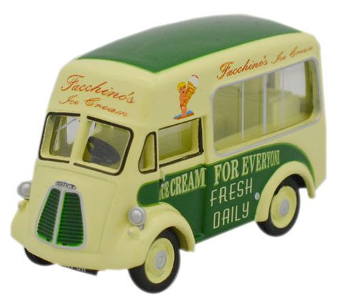 Oxford Diecast Facchinos Morris J Ice Cream Van - 1:76 Scale