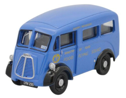 Oxford Diecast Ministry of Food Morris J Van Windows - 1:76 Scale