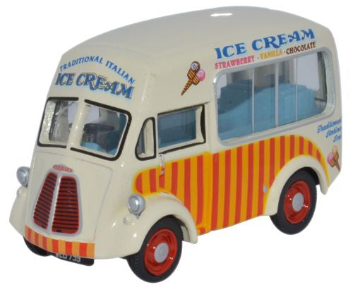 Oxford Diecast Morris J Ice Cream San Remo Carters Steam Fair - 1:76 S