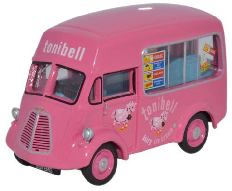 Oxford Diecast Morris J Ice Cream Tonibell - 1:76 Scale