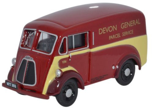 Oxford Diecast Morris J Van  Devon General - 1:76 Scale