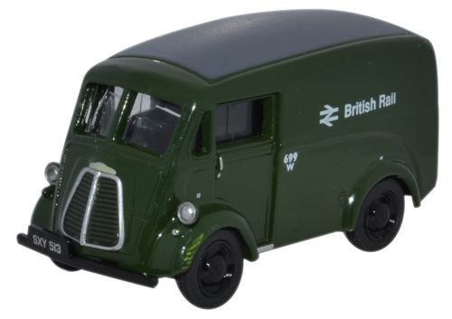 Oxford Diecast Morris J Van British Rail - 1:76 Scale