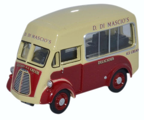 Oxford Diecast Morris J Ice Cream Di Mascios