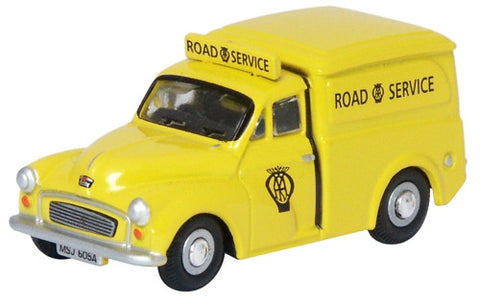 Oxford Diecast AA Morris Minor - 1:76 Scale