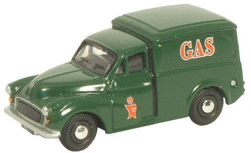 Oxford Diecast GasMorris Minor Van - 1:76 Scale