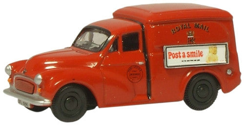 Oxford Diecast Royal Mail Morris Minor Van - 1:76 Scale