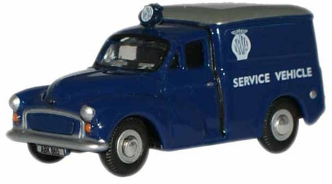 Oxford Diecast NRMA Morris Minor Van - 1:76 Scale