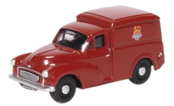 Oxford Diecast Morris 1000 Van British Railways