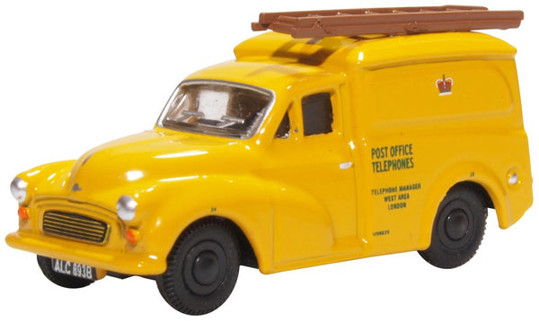 Oxford Diecast Morris 1000 Post Office Telephones Yellow