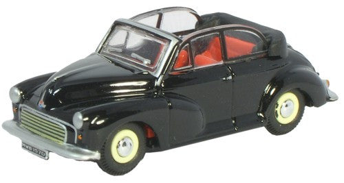 Oxford Diecast Convertible Open Black/Grey - 1:76 Scale