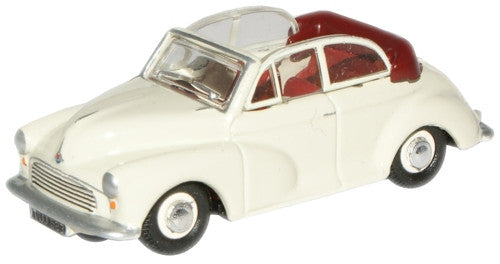 Oxford Diecast Old English White/Red Minor - 1:76 Scale