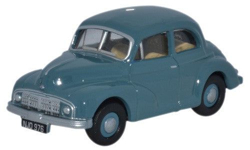 Oxford Diecast Morris MM Series Lowlight Thames Blue - 1:76 Scale