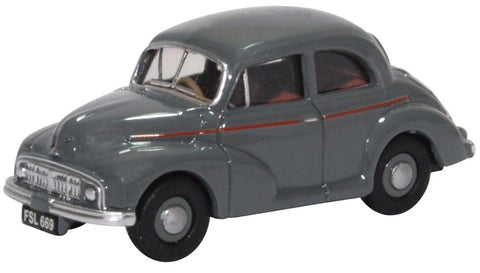 Oxford Diecast Morris Minor MM Saloon Clarendon Grey