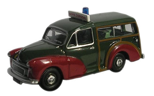 Oxford Diecast Bomb Disposal Morris Traveller - 1:76 Scale
