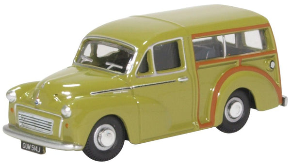 Oxford Diecast Morris Traveller Limeflower
