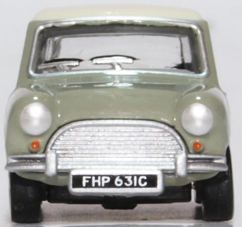 Oxford Diecast Classic Mini Tweed Grey OEW