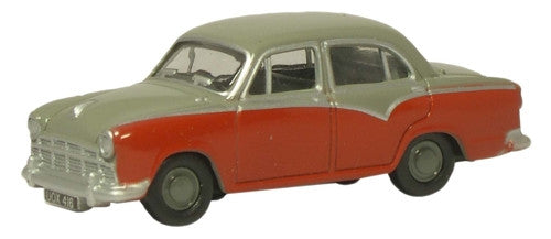 Oxford Diecast Birch Grey/Red Morris Oxford III - 1:76 Scale
