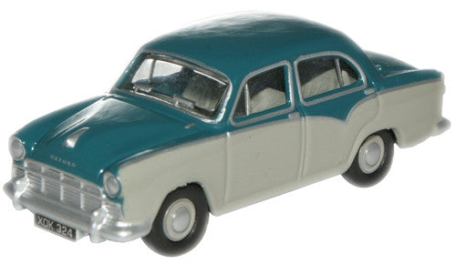 Oxford Diecast Turquoise/Grey Morris Oxford - 1:76 Scale
