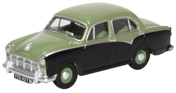 Oxford Diecast Morris Oxford III Sage Green Twilight Grey