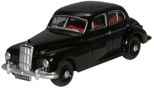 Oxford Diecast Morris 6 Black - 1:76 Scale