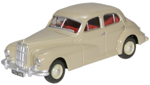 Oxford Diecast Platinum Grey Morris Six MS - 1:76 Scale