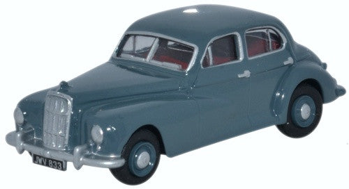 Oxford Diecast Morris Six Clarendon Grey - 1:76 Scale