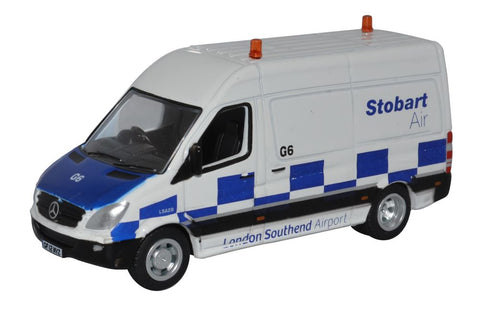 Oxford Diecast Mercedes Sprinter Van Stobart Air