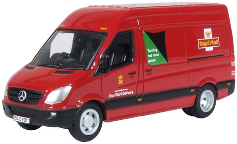 Oxford Diecast Mercedes Sprinter Van Royal Mail