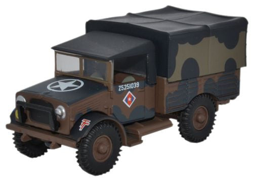 Oxford Diecast British Army Mickey Mouse Bedford MWD - 1:76 Scale