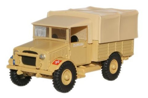 Oxford Diecast British Army Desert Bedford MWD - 1:76 Scale